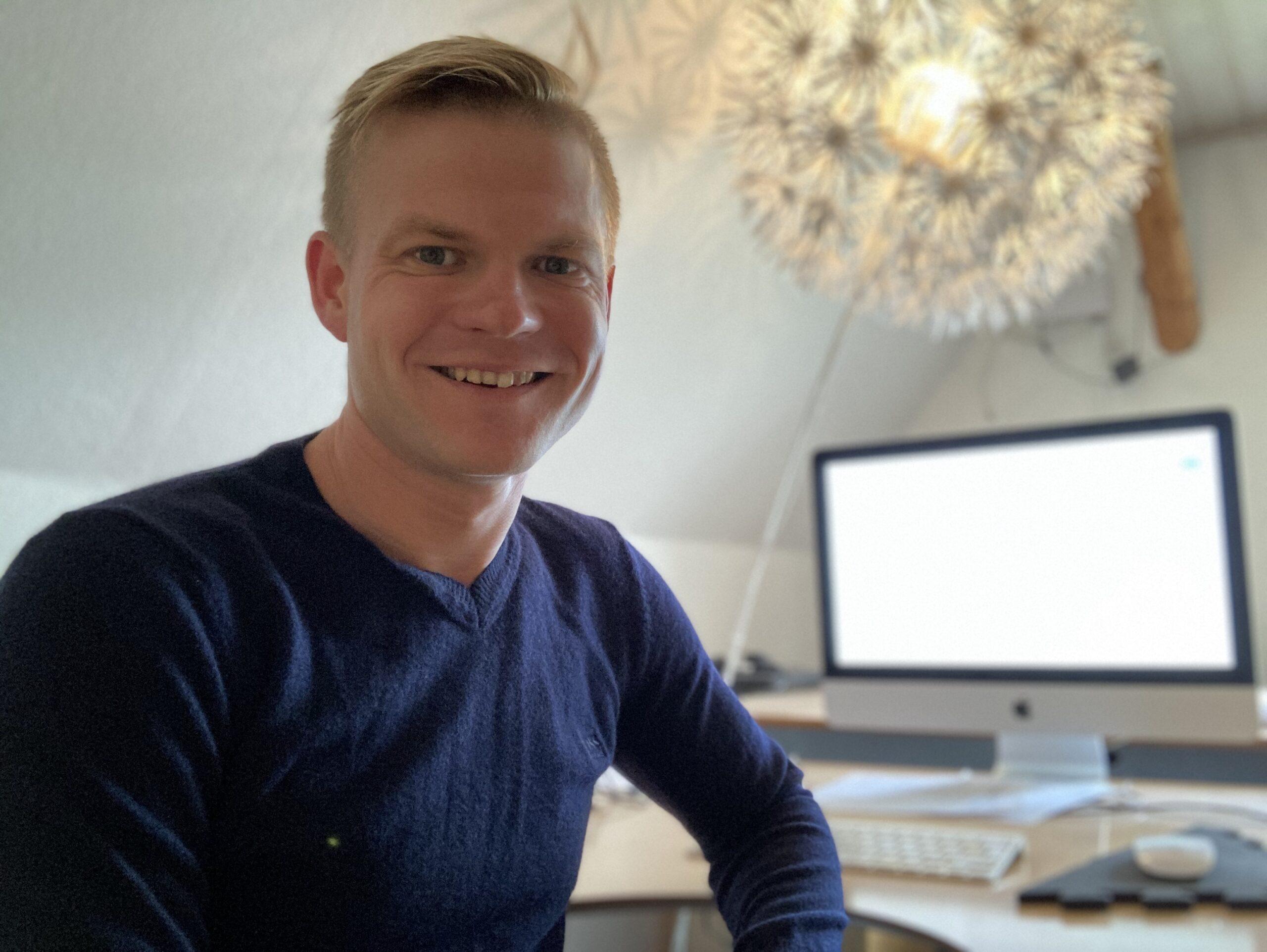 Morten Falk Størling står bag Pastaparty.dk